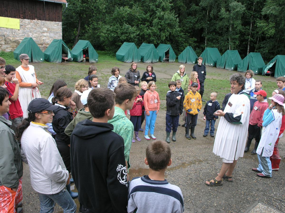 Letní tábor Bochnín se koná každoročně v srpnu