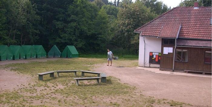 Na Bochníně se pořád něco děje – i když tu třeba zrovna žádný letní tábor není