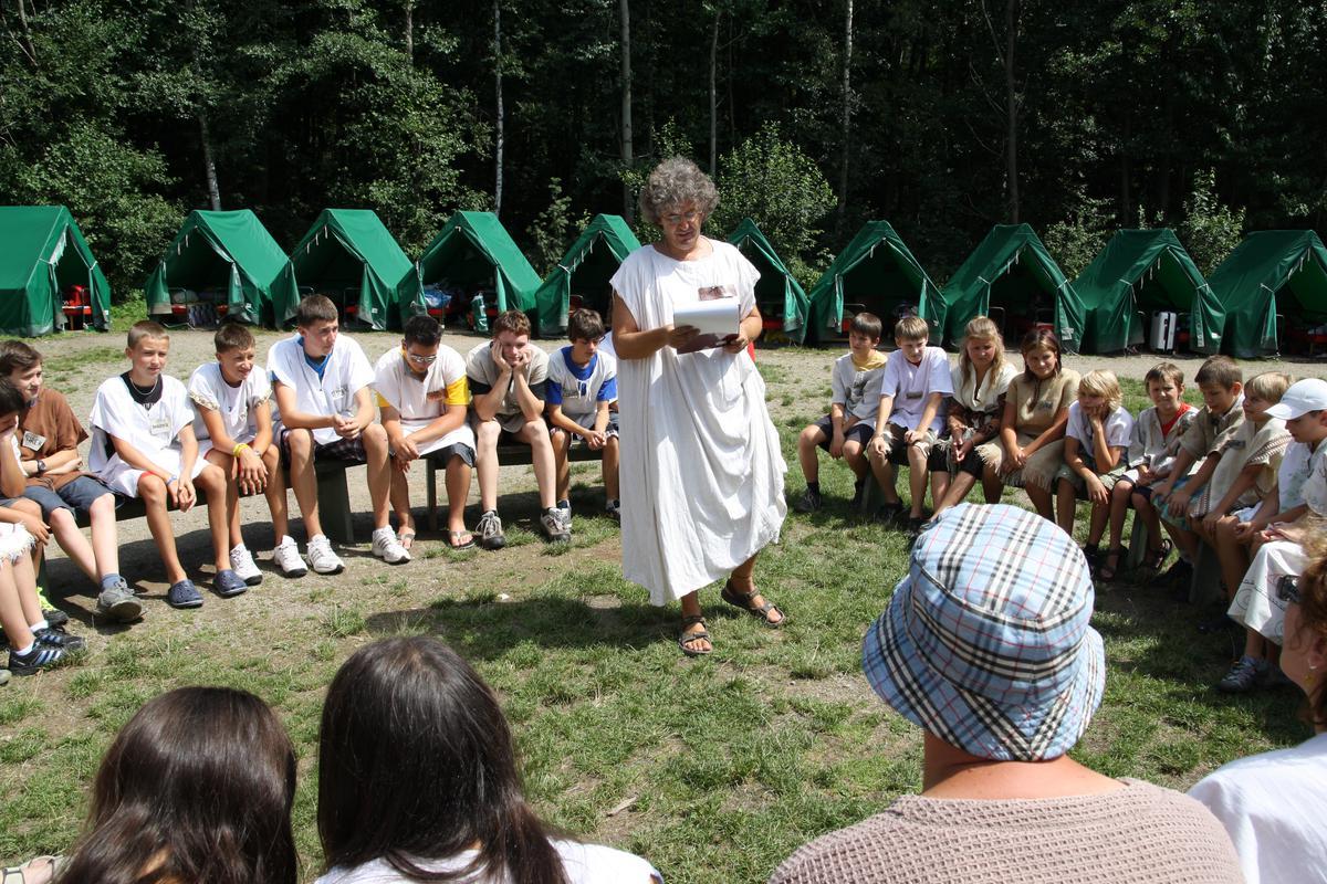 Tábor na Vysočině zvaný Bochnín pořádají samí zkušení vedoucí
